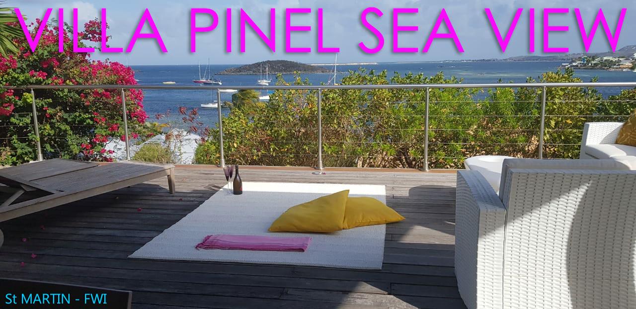 VILLA PINEL SEA VIEW